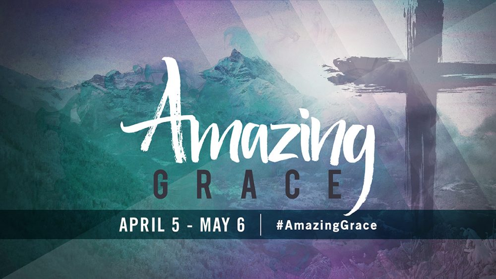 Amazing Grace - Easter Week 1 Rescued in Grace Image
