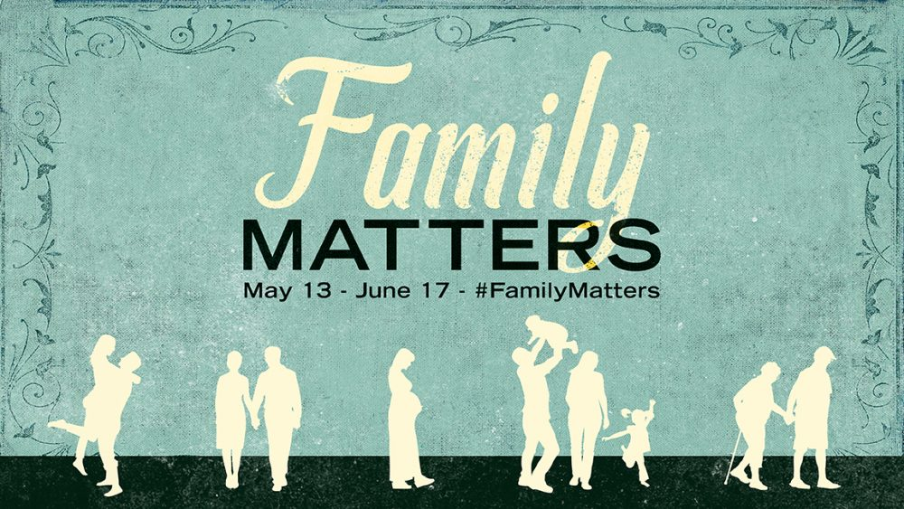 Family Matters - Week 1 Mother's Day – Mother Love