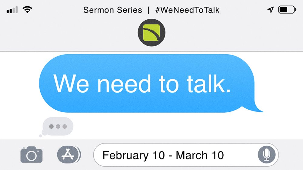 We Need to Talk: Learning to Listen