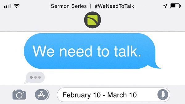 We Need to Talk: Words are Seeds Image