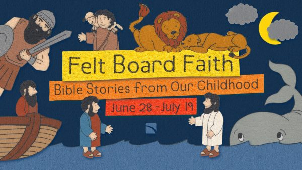 Felt Board Faith | The Man Blind from Birth Image